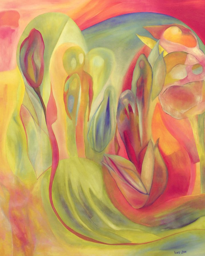 Linda Cull's painting Liberation of Persephone
