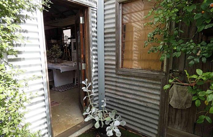Fi Wilkie's studio entrance