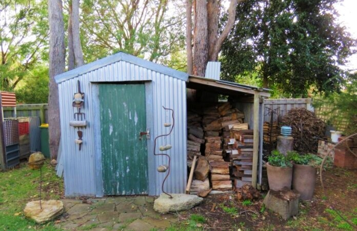 Emily Jackson's rustic shed