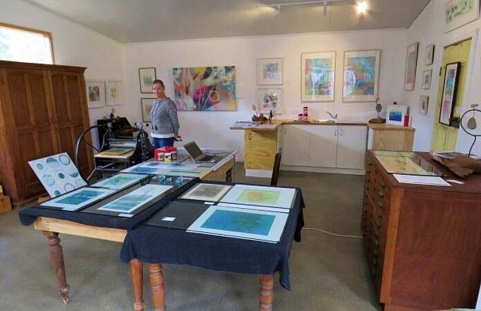 Inside Emily Jackson's art studio