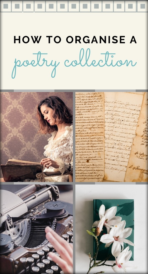 How to organise a poetry collection_Pinterest