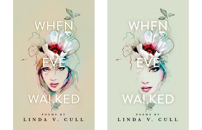 When Eve Walked book design drafts