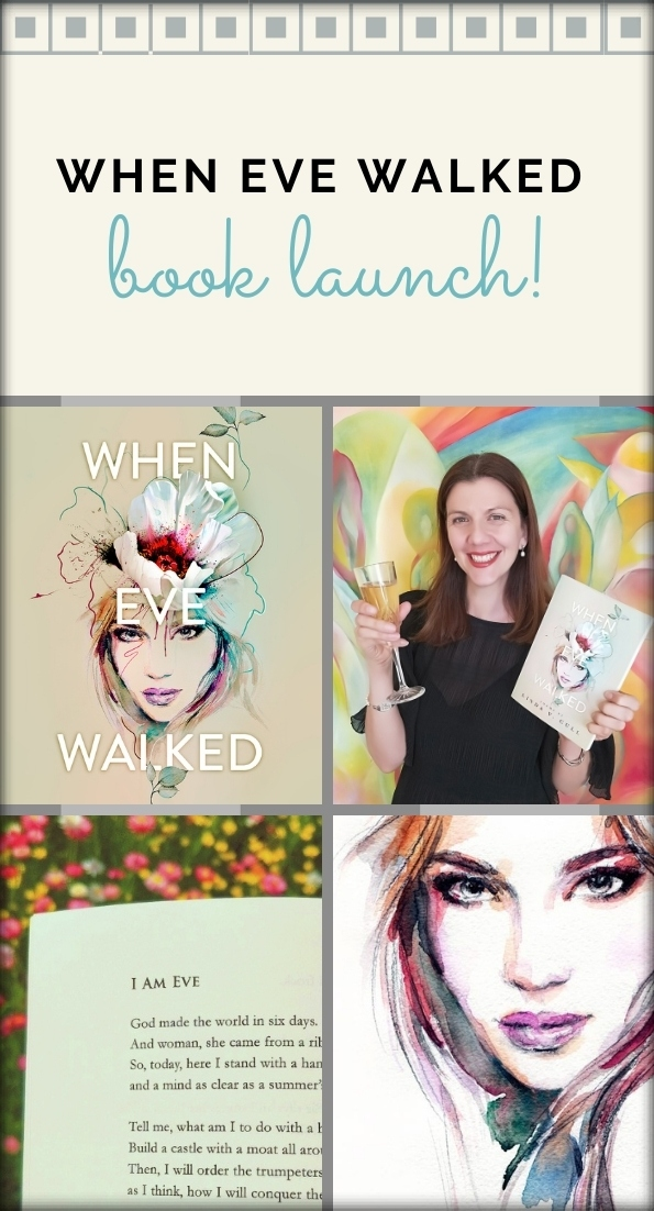 When Eve Walked launch Pin It! collage